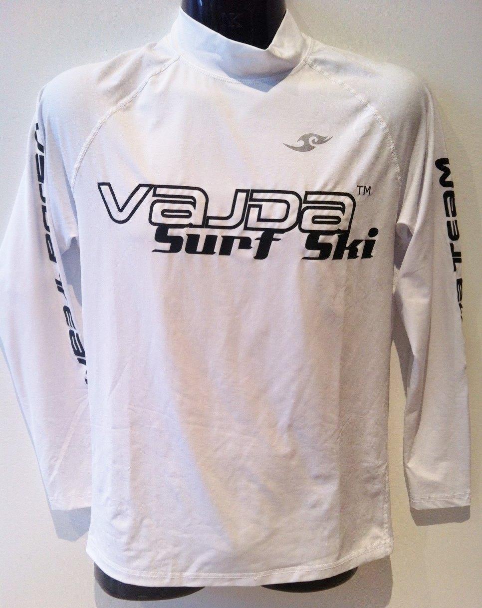 Rash Shirt Vajda Surfski Ls White Unisex Australian
