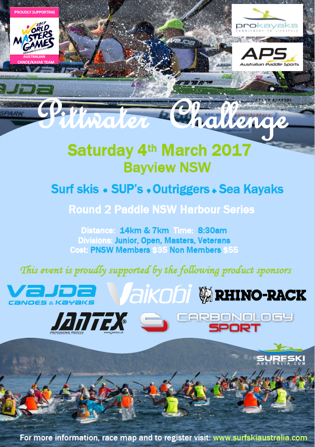 Pittwater Challenge Flyer